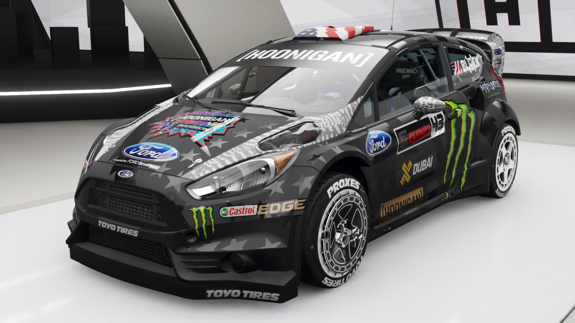 Hoonigan Gymkhana 8 Ford Fiesta ST RX43 | Forza Motorsport ...