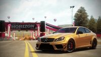 FH Mercedes C63AMG BlackSeries