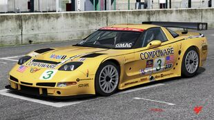 Chevrolet #3 Corvette Racing C5.R in Forza Motorsport 4