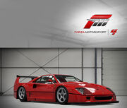 Ferrari f40 competizione 89 FM4