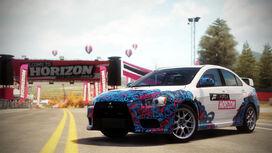 FH Mitsu Lancer Evo X LCE Promo