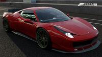 FM7 Ferrari 458 LB Front