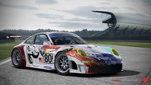 Porsche 911 GT3-RSR in Forza Motorsport 4