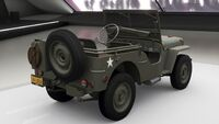 FH4 Willys MB Jeep Rear