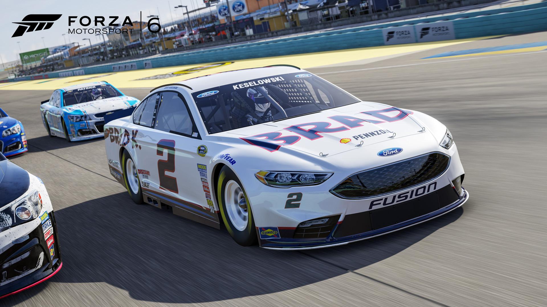 The  Team Penske Brad K Fusion In Forza Motorsport