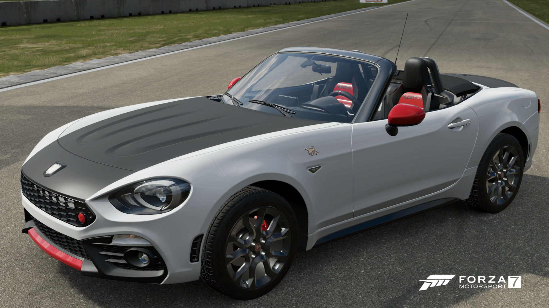 abarth 124 spider forza motorsport wiki fandom powered by wikia. Black Bedroom Furniture Sets. Home Design Ideas