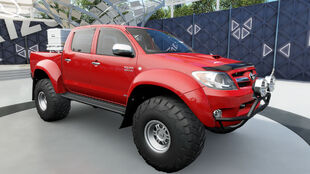 The 2007 Toyota Hilux Arctic Trucks AT38 in Forza Horizon 3