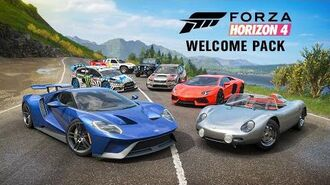 Forza Horizon 4 Welcome Pack