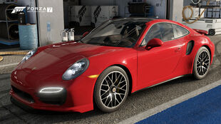 The 2014 Porsche 911 Turbo S in Forza Motorsport 7