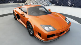 The Noble M600 in Forza Horizon 3