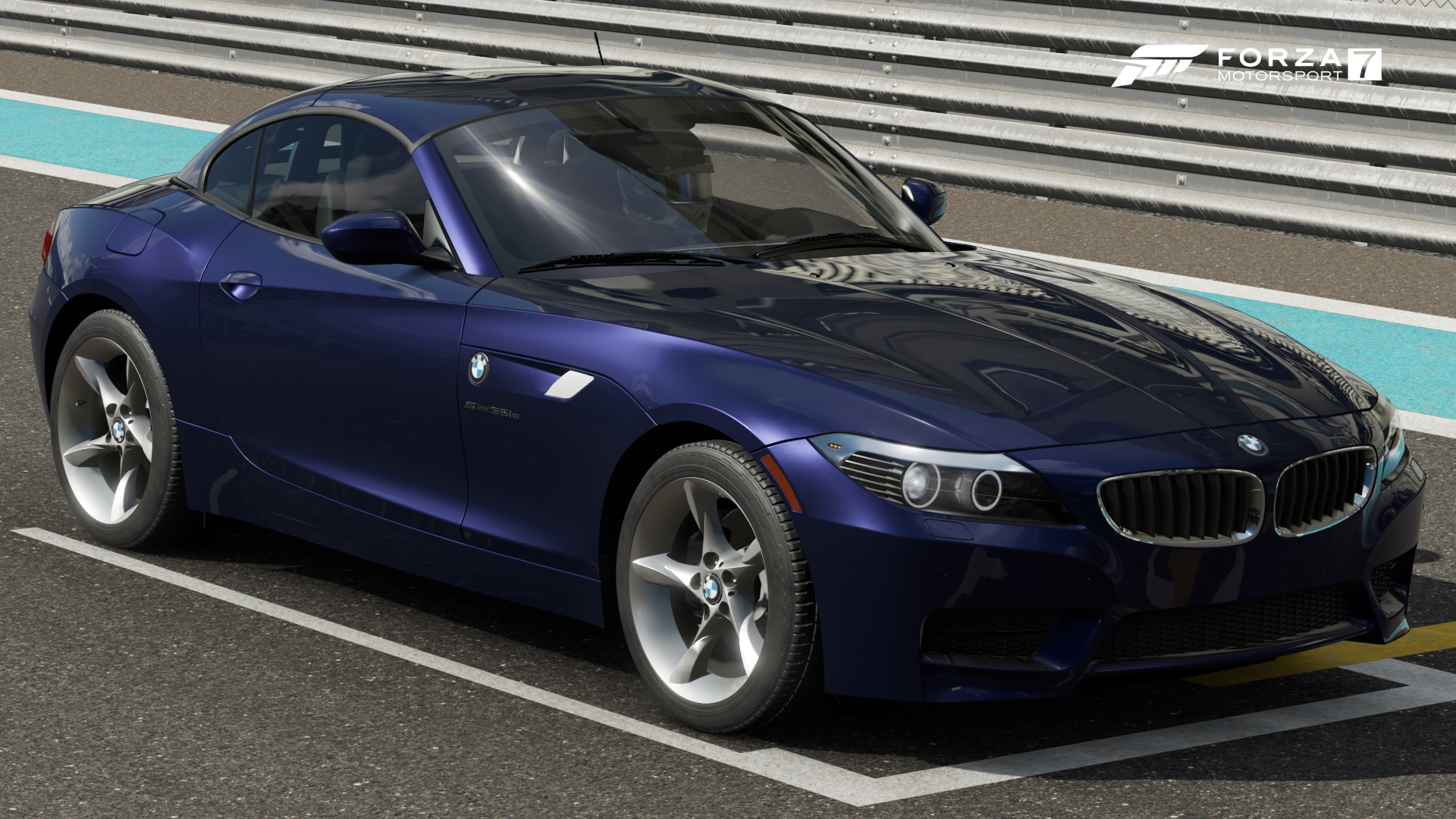 The 2011 BMW Z4 SDrive35is In Forza Motorsport 7