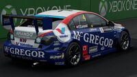 FM7 Chevy 4 Cruze TC1 WTCC Rear