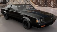 FH3 Buick Regal GNX Front