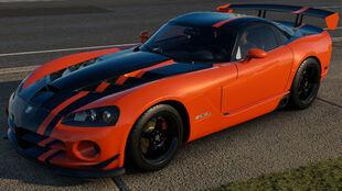 The 2008 Dodge Viper SRT10 ACR in Forza Horizon 3