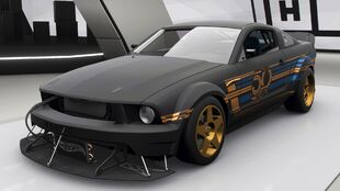 Hot Wheels Ford Mustang in Forza Horizon 4
