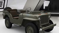 FH4 Willys MB Jeep Folded Windshield