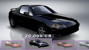 Civic CR-X Sel Sol VTEC in Forza Motorsport