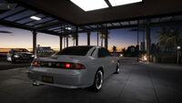 FS Nissan Silvia 98 Rear