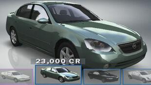 Nissan Altima 3.5 SE in Forza Motorsport.