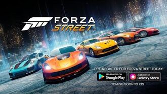 Forza Street Pre-Register on Android Today