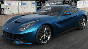 The 2012 Ferrari F12berlinetta in Forza Motorsport 7