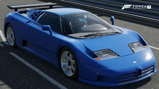The 1992 Bugatti EB110 Super Sport in Forza Motorsport 7