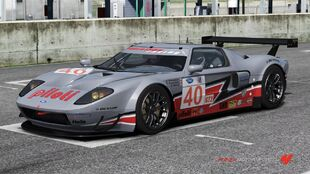 Ford #40 Robertson Racing Ford GT Mk7 in Forza Motorsport 4