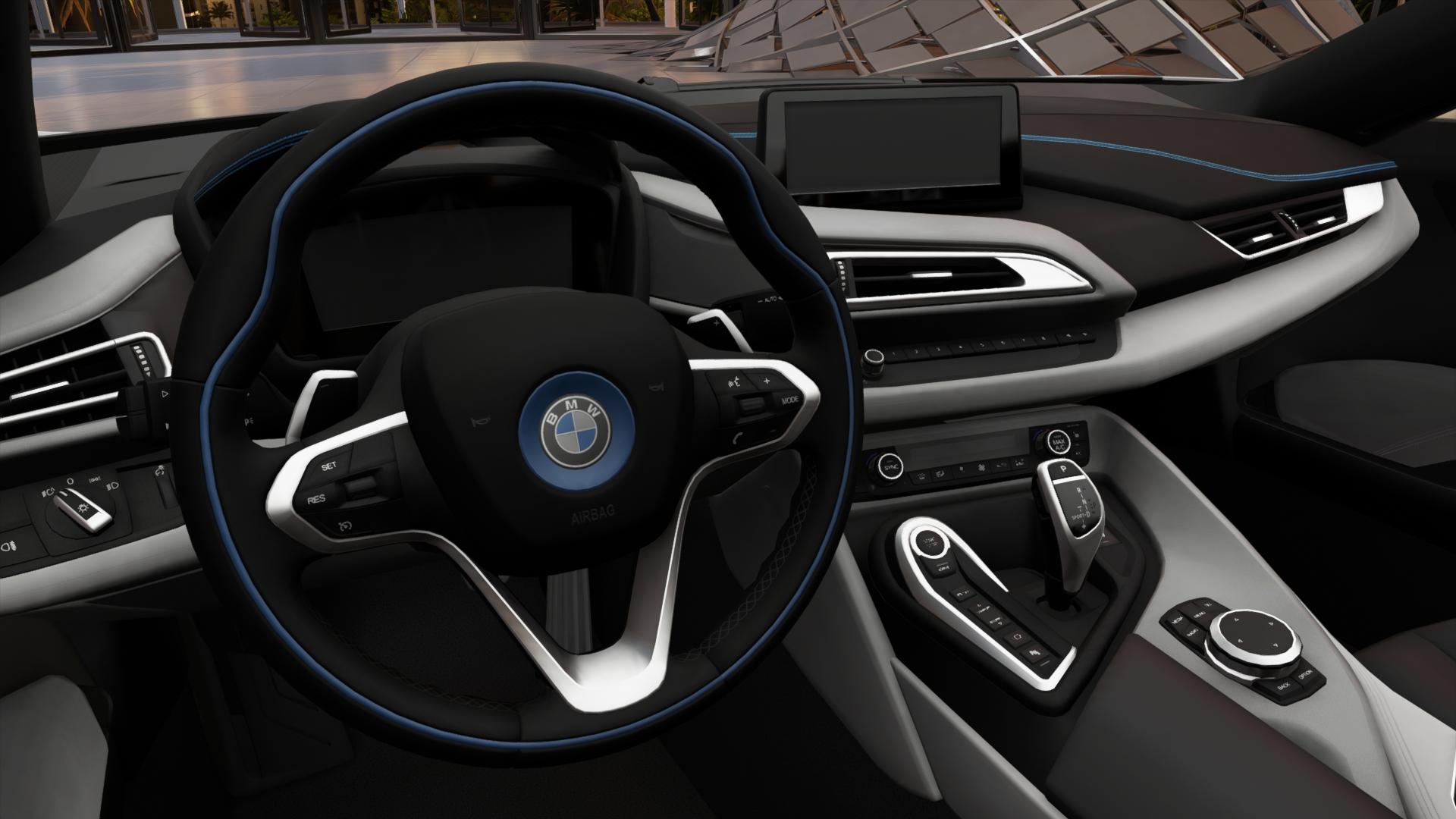 Image Fh3 Bmw I8 Interior Jpg Forza Motorsport Wiki Fandom