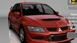 Mitsubishi Lancer Evolution VIII GSR in Forza Motorsport 2