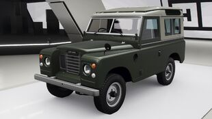 Land Rover Series III in Forza Horizon 4