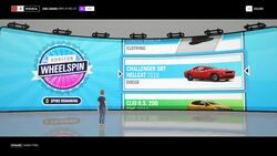 FH4 Wheelspin