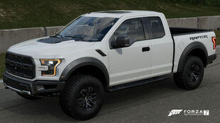 The 2017 Ford F-150 Raptor in Forza Motorsport 7