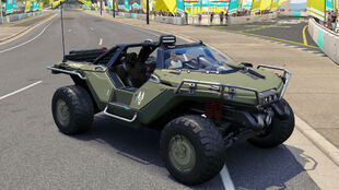 The 2554 AMG Transport Dynamics M12S Warthog CST in Forza Horizon 3