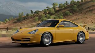 The 2004 Porsche 911 GT3 (996) in Forza Horizon 3