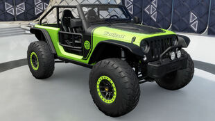 The 2016 Jeep Trailcat in Forza Horizon 3