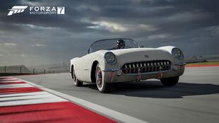 The 1953 Chevrolet Corvette in Forza Motorsport 7