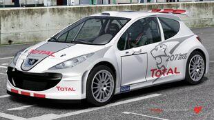 207 Super 2000 in Forza Motorsport 4