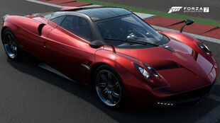 The 2012 Pagani Huayra in Forza Motorsport 7
