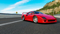FH3 Ferrari F40
