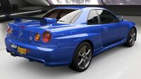 FH4 Nissan GT-R 02 Rear