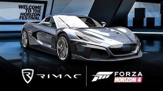 Forza Horizon 4 - Rimac C Two