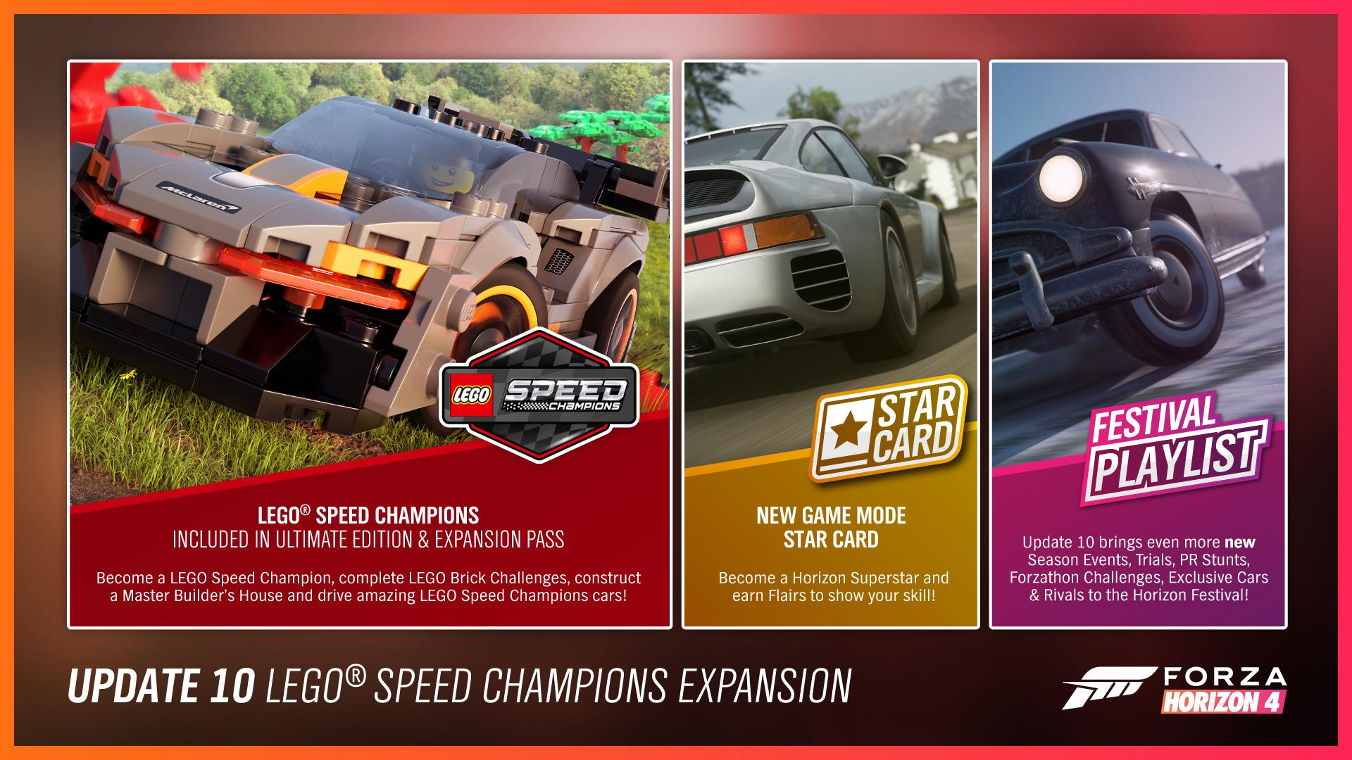 Update 10 Lego Speed Champions Expansion Forza