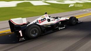 The Chevrolet #1 Team Penske IndyCar in Forza Motorsport 6