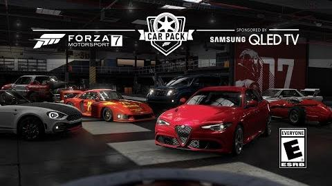 FM7 - Samsung QLED Car Pack