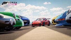 FH3 DLC PorscheCarPack Screenshot1