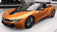 FH4 BMW i8 Roadster Front