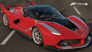 The 2014 Ferrari FXX K in Forza Motorsport 7