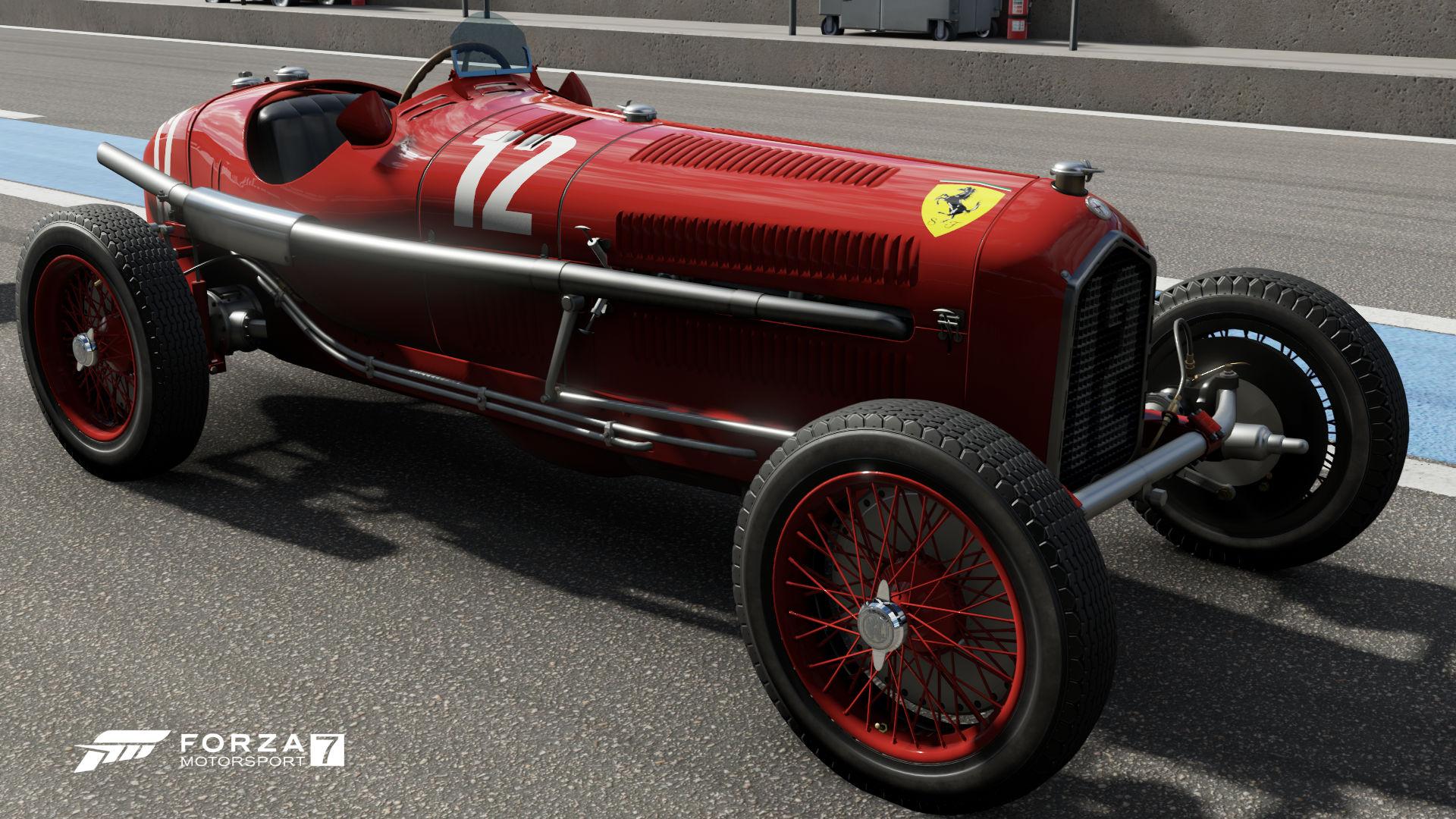 Alfa Romeo P3 Nuvolari – Idea di immagine auto
