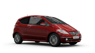 Mercedes-Benz A200 Turbo Coupe in Forza Motorsport 4