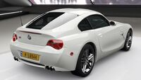 FH4 BMW Z4 M Coupe Rear